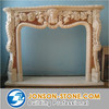 Fancy marble stone fireplaces design price