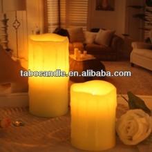 led craft candle/candle make led/electronic led candle
