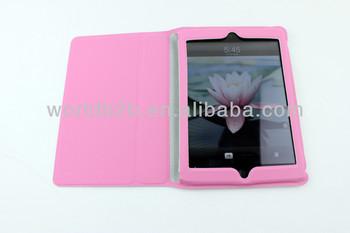 Smart Cover Leather Case for ipad mini 2& ipad mini