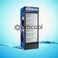 de promoción de pepsi 350l comercial refrigerador refrigerador para bebidas