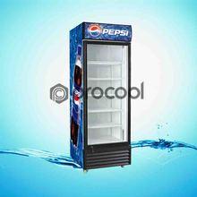 promotional 350L pepsi refrigerator commercial cooler for beverage