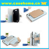 Mercury flip wallet leather cover case with card holders for Samsung galaxy Note 2