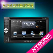 "Xtrons-6.2"" HD digital TFT touch screen universal Two Din Car DVD Player"