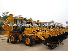 Qingong mini wheel loader backhoe WZ30-25 with Cummins Engine/Load capacity:2.5ton