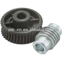 ISO OEM small worm wheel and worm gear unit,poly worm wheel set
