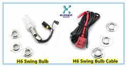 2013 hot MOTO HID xenon bulb 12V/35W DC H6 single beam hid bulb