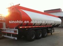 3 axles 40-60cbm Tunisia fuel tank truck trailer