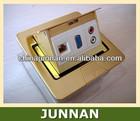 RJ11/Telephone, RJ45/Data, RCA, HDMI, VGA, USB, XLR etc. / Electrical Floor Outlet