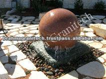 landscape stone fountain
