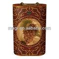 antiguo de uvas francesas decorativos de madera caja del vino