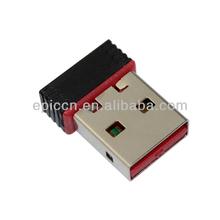 Latest Mini USB wireless wireless network interface card wireless usb wlan adapter 802.11n