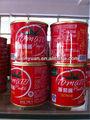 Vendita calda concentrato di pomodoro in scatola, salsa di pomodoro, ketchup di pomodoro