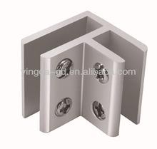 aluminum glass clamps