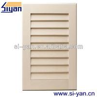vinyl shutter style cabinet doors