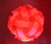 Modern Red IQ Light Jigsaw Lamp Puzzle Lamp