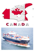 shipping container from ningbo to canada