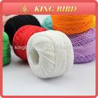 100% cotton threading thread for crochet