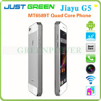 Hot!!!4.5 Inch Android 4.2.1 Quad core Jiayu G5 IPS OGS Capacitive Screen Dual SIM Card Dual Standby Moblie Phone With 3G