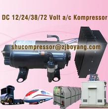 DC 12/24/48/72 Volt a/c Kompressor portable air conditioner for cars 12v electric car air conditioning system 48v