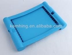 Silicone Case for iPad mini 2 stand rubber silicone back case for ipadmini