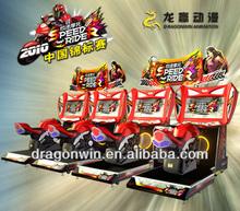 2013 most popular DARDONWIN animation sega Japanese arcade coin operated semi-automatic go kart for sale