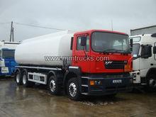 ERF ECS 8X4 Tanker Truck RHD Right Hand Drive