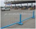 Fabbrica diretta comunale recinto reticolato/via guardrail