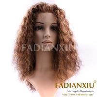 cheap afro kinky Brazilian human hair full lace wigs for black women