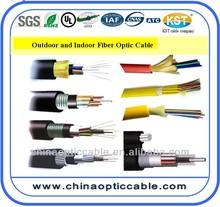 aerial fiber optic cable 12 24 48 96 144 fujikura/corning fiber optic cable providers