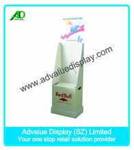 redbull energy drink customized floor display