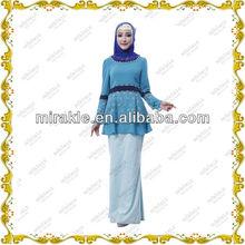 MF21405 Baju kurung Lace Muslim design baju melayu