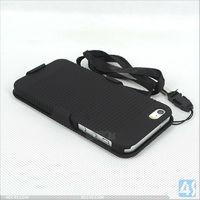 For iPhone 5/5S String Design Hard Slide Case Cover P-IPH5SHC005