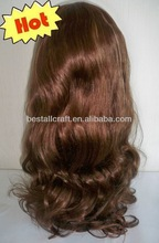 brazilian hair lace front wigs/100% human hair--high quality with best price
