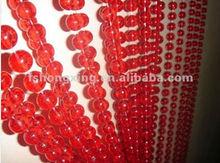 HX-004R elegant crystal home decor beaded curtain