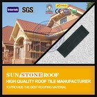 Architecture shingle colorful stone coated metal roofing