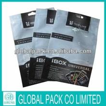 plastic bag for mobile phone/phone case plastic packaging bags