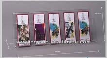 Manufacturer supplies elegant acrylic bookmark display stand