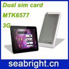 2013 Top Seller 3-sim android phone MTK6577 dual core