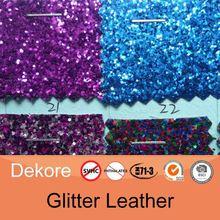 glitter paper fashion pu glitter