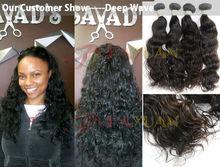 Wholesale queen hair products no mix no shedding no tangling unprocessed human hair virgin deep wave brazilian hair