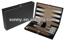 Custom high quality backgammon board game