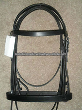 Leather Horse Plain Bridle