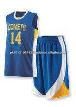 Basketball Uniforms Made 100% Cotton