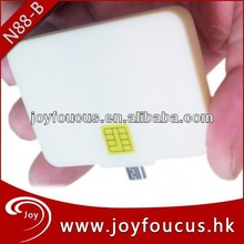 [Verified] Smart Card Reader Micro USB wireless credit card processing for Android Phones(N88)