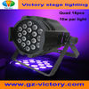 High powerful 18pcs 10w led par light par64 RGBW 4 in 1 par