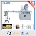 china hz120bd ce automático de la máquina del cartón bolsita de vaselina
