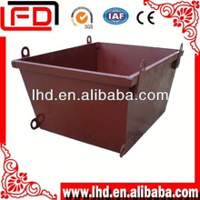metal industrial trash bin for sale