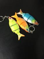 fish key chain plastic key chain