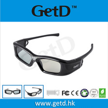 3D Active Rechargeable Shutter dlp link glasses 3d Eyewear For All DLP-LINK Ready Projector