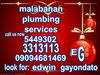 E.G malabanan plumbing services/3313113/5449302/09094681469